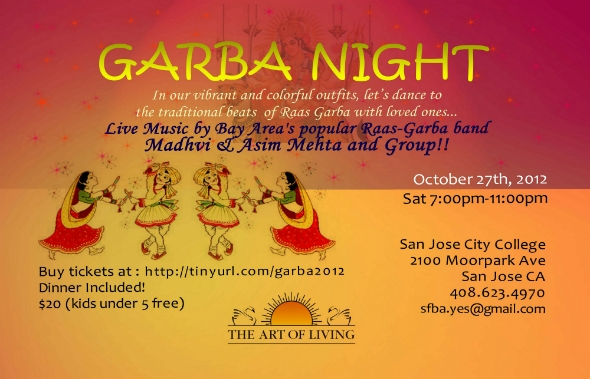 Garba Dandia Night Free Food Exciting Prizes and much more