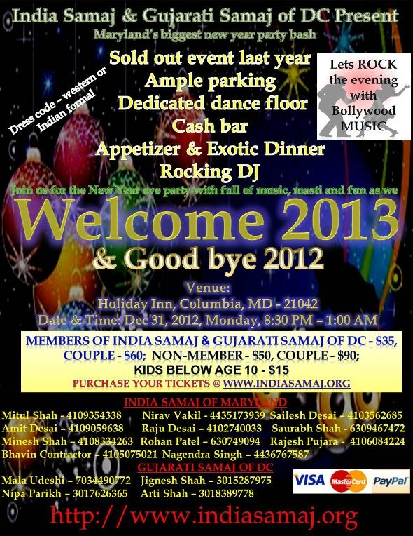 Welcome 2013 & Good Bye 2012