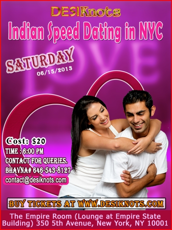 Saathiya Events Present : Catch A Date ! A Speed Dating Event !
